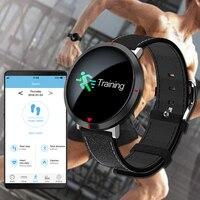 Saatler'ten Dijital Saatler'de 2019 S2 Kalp Hızı Spor akıllı saat Android ios cep telefonu Bluetooth akıllı saat Erkekler Dijital Kan Basıncı akıllı saat es