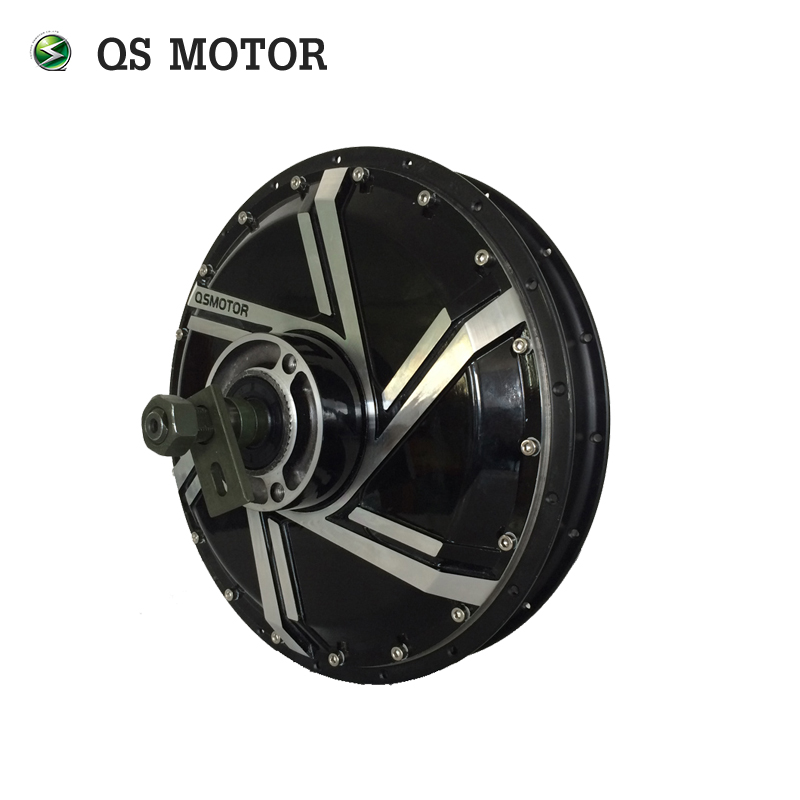 Electric Hub <font><b>Motor</b></font> <font><b>4000W</b></font> 273 40H V2 For Electirc Motorcycle <font><b>QS</b></font> <font><b>Motor</b></font> image