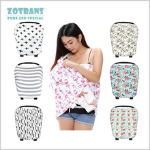 Nursing Cover Scarf for Mum Breastfeeding Baby Car Seat Canopy Shopping Cart Cover for Unisex Babies