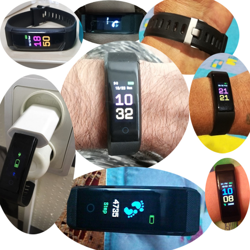Schnoah New Smart Watch Men Women Heart Rate Monitor Blood Pressure Fitness Tracker Smartwatch Sport Watch For Ios Android +BOX