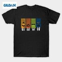 GILDAN Cookie Monster T Shirt Men Funny Clothing Reservoir Muppets Man Short Sleeve Tee Shirts For