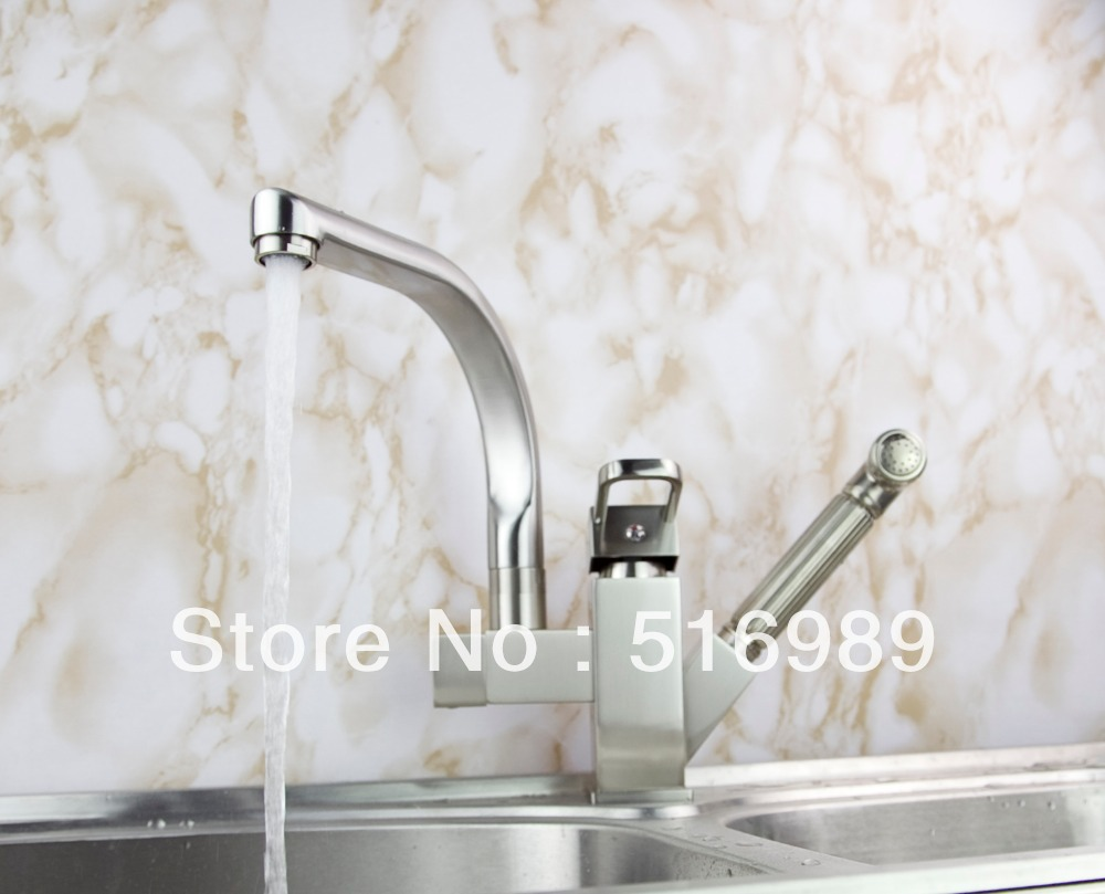 popular kitchen tap brands buy cheap kitchen tap brands lots from new brand pull out deck mount swivel 360 spray chrome brass water tap sink kitchen torneira