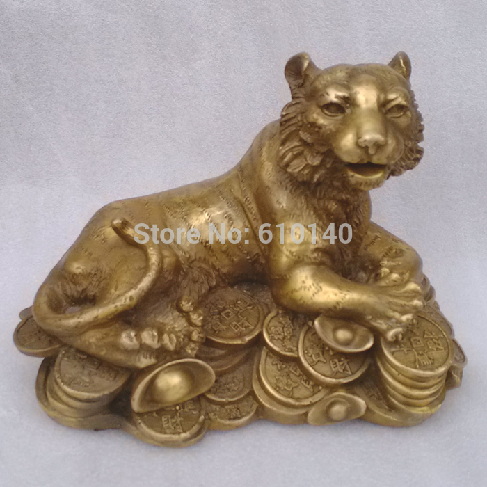 Copper Money Health Tiger Tiger Lucky Xiao Yinhu right Hannaford Home Decoration