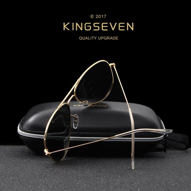 58mm Retro Sunglasses Women Kingseven Luxury Brand Female Sun glasses For Women 2016 Fashion Oculos Designer Shades Unisex 3026