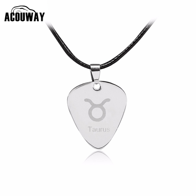tensity necklace steel guitar pick stainless zamels in product