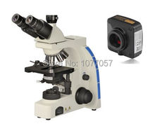 On sale Best sell,14M Digital phase contrast Clinical microscope W/40x-1000X  for lab/ Education /Hospital/researching Using
