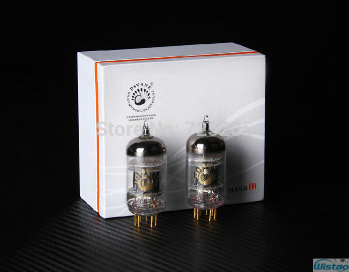 12AT7-TII Vacuum PSVANE Tube Original Factory Paired New 2nd GenerationHigh Reliability Precise  цены