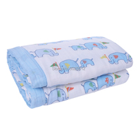 Bamboo Cotton Muslin Swaddle Two Layers 47 X 47 Receiving Blanket Infant Baby Bedding Sheet Play