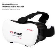 VR CASE 5th 3D Glasses Upgraded Version Virtual Reality 3D Video Glasses+ Remote Google Cardboard for 3.5″ – 6.0″ SmartPhone