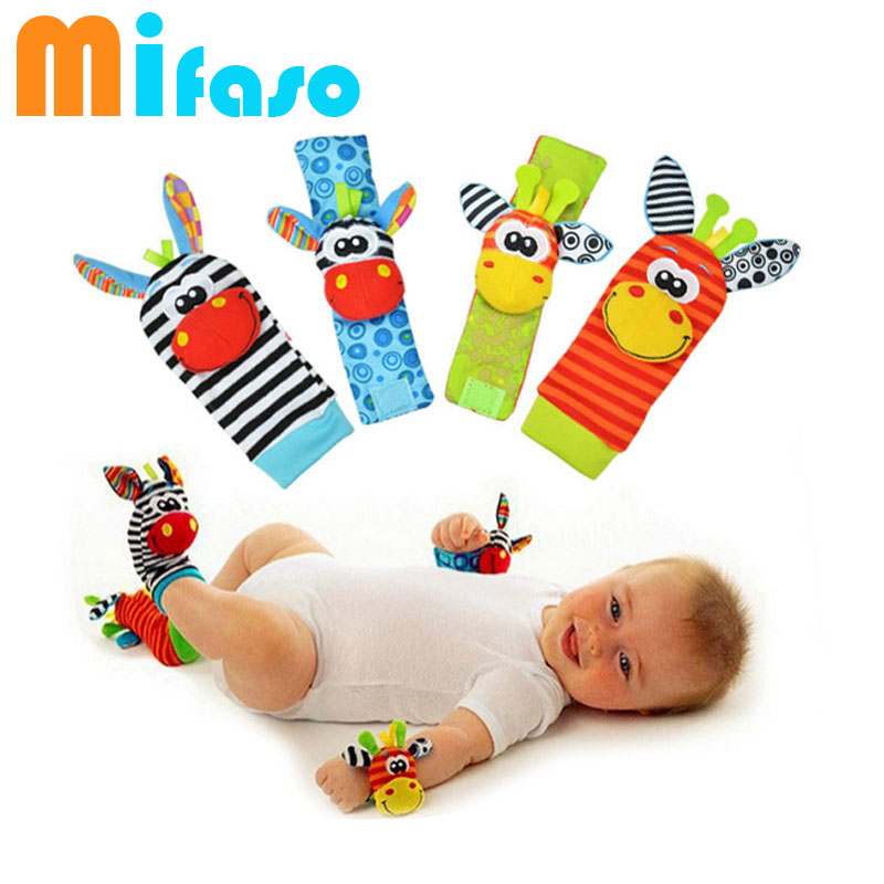 Sozzy Hot Baby Toy Socks Baby Toys Gift Plush Garden Bug