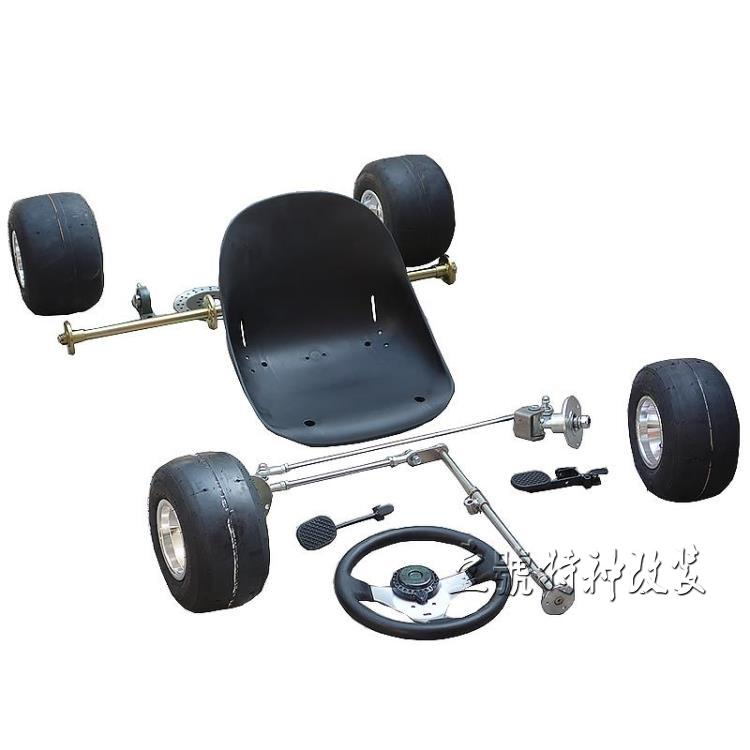 Atv,rv,boat & Other Vehicle Learned Go Kart Karting Atv Utv Sprocket 1m Rear Axle Steering Knuckles Tie Rod Steering Wheel With 5 Inch Wheel Tires Plastic Seat Meticulous Dyeing Processes Back To Search Resultsautomobiles & Motorcycles