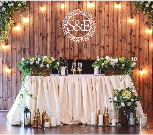 Personalized Wedding monogram Family initials Wall sign Wooden decor Perfect gift baby s ...