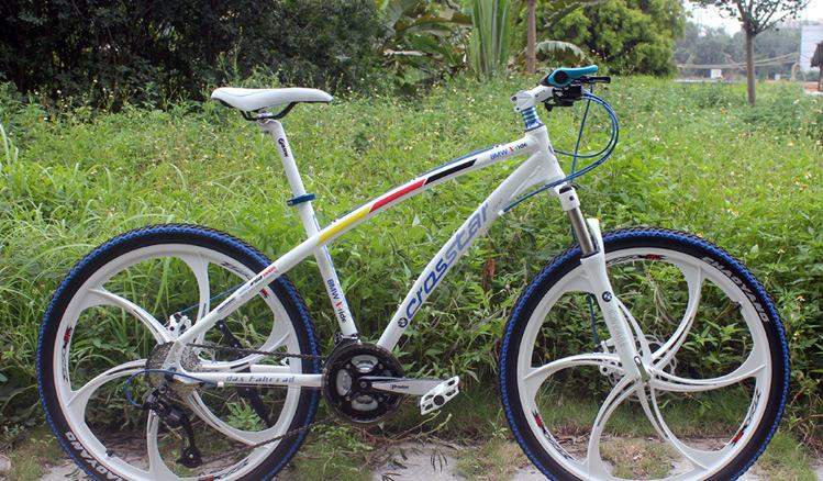 2colors 26*2.125er mountain bicycle man woman bike 21/24/27/30 speed Hard Frame 26 inch Hydraulic Disc brakes
