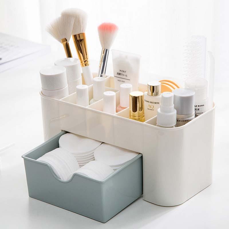 Schublade Kosmetik Boxen Make Up Pinsel Aufbewahrungsbox Desktop ...