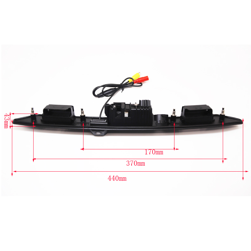 HD CCD Car Trunk Handle Reverse Parking Rear View <font><b>Camera</b></font> For <font><b>Audi</b></font> A3 A4 A5 <font><b>A6</b></font> A8 A6L Q7 Revese Backup <font><b>Camera</b></font> Night view New image