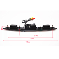 HD CCD Car Trunk Handle Reverse Parking Rear View Camera For Audi A3 A4 A5 A6 A8 A6L Q7 Revese Backup Camera Night view New