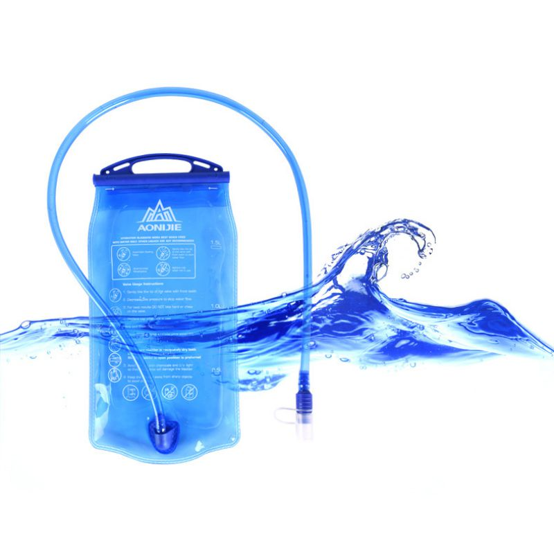 Outdoor Camping Hiking TPU Water Bag Hydration Riding Running EDC Portable Folding Water Bags Newest