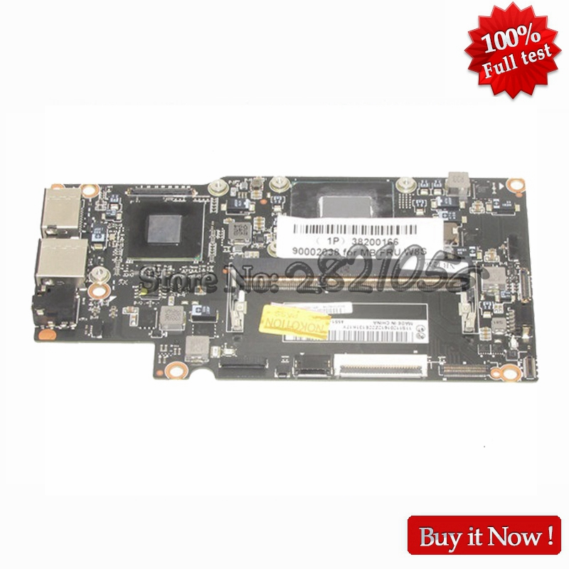 NOKOTION NEW 11S11201612 For Lenovo Yoga 13 Laptop Motherboard MB Panasonic with SR0XL I5 3337U CPU onboard DDR3 100% test
