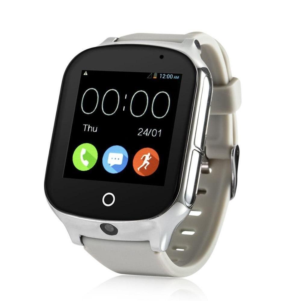 Reloj inteligente para niños Elder A19, reloj GPS con Android, dispositivo localizador antipérdida, Monitor de voz con cámara, reloj inteligente para bebés - 4