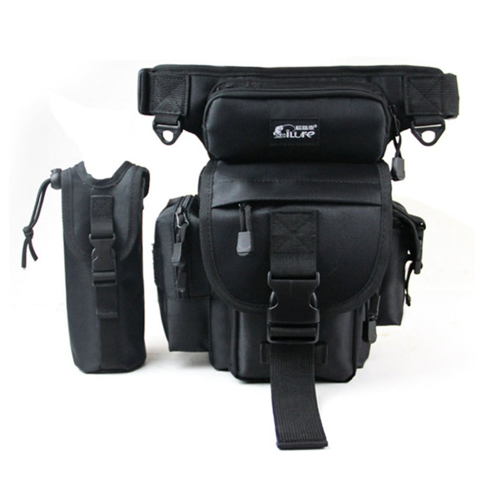 Men Drop Leg Bag Thigh Hip Bum Belt Fanny Waist Pack Messenger Casual Shoulder Bag Motorcycle Military Tactical For Travel Rider
