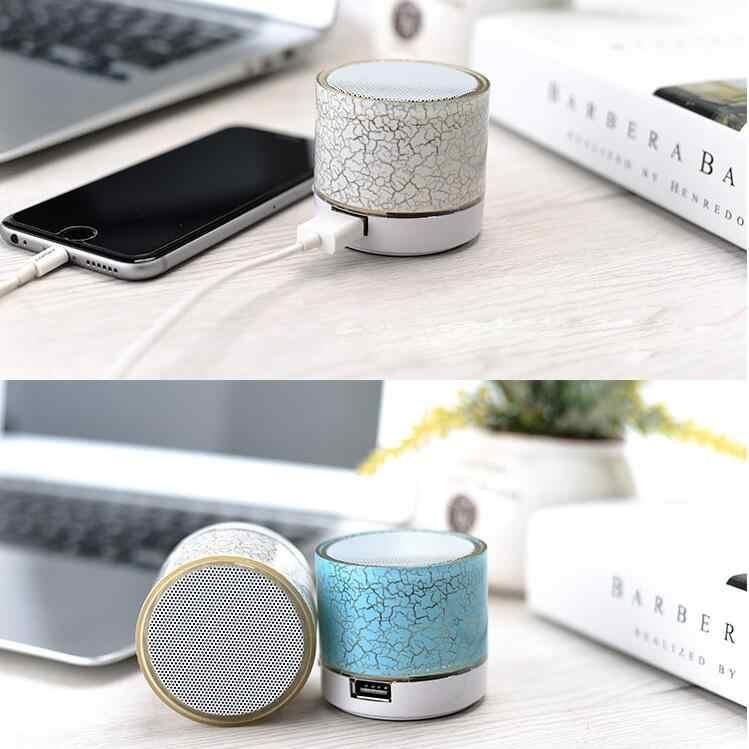 Draadloze Mini Led Bluetooth Speakers Muziek Audio Tf Usb Fm Stereo Subwoofer Met Mic