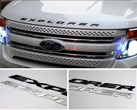 FLYJ 2017 ABS Car Styling Front Or Back Car Emblem Cover Sticker Letters Sports Style Case