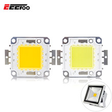 Mazorca de alta potencia 3 W 10 W 20 W 30 W 50 W 100 W LED Chip matriz luz-Luz diodo Emisor DC10-32V integrado lámpara LED Chips reflector(China)