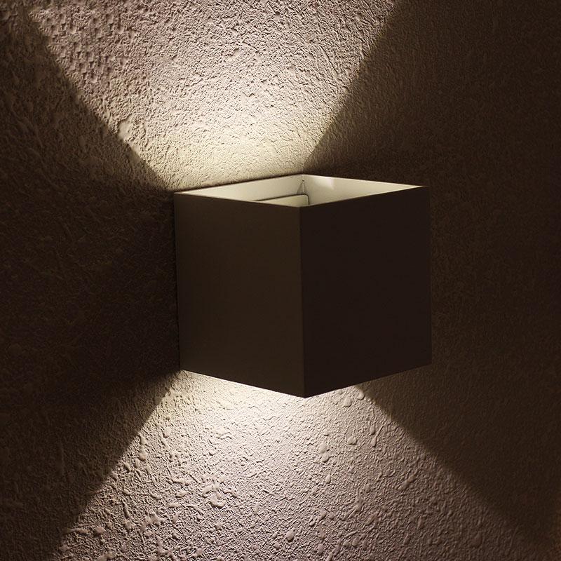 Lâmpadas de Parede 6 w indoor levou ao Material do Corpo : Alumínio