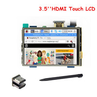 3.5 Inch HDMI TFT LCD Touch Screen Support 480x320 1920x1080 LCD Display for Raspberry Pi 3