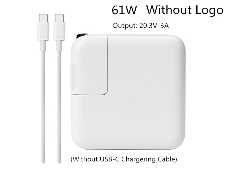 New Working 20.3V 3A 61W Type C USB-C Power Adapter Charger For Latest Macbook Pro 13 inch A1706 A1707 A1708A A1718 Made In 2016