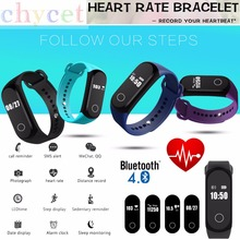 Heart Rate Smart Bracelet Sleep Monitor Pedometer Bluetooth 4.0 Waterproof IP67 Swim Bracelet Universal For Android IOS PK TW64S