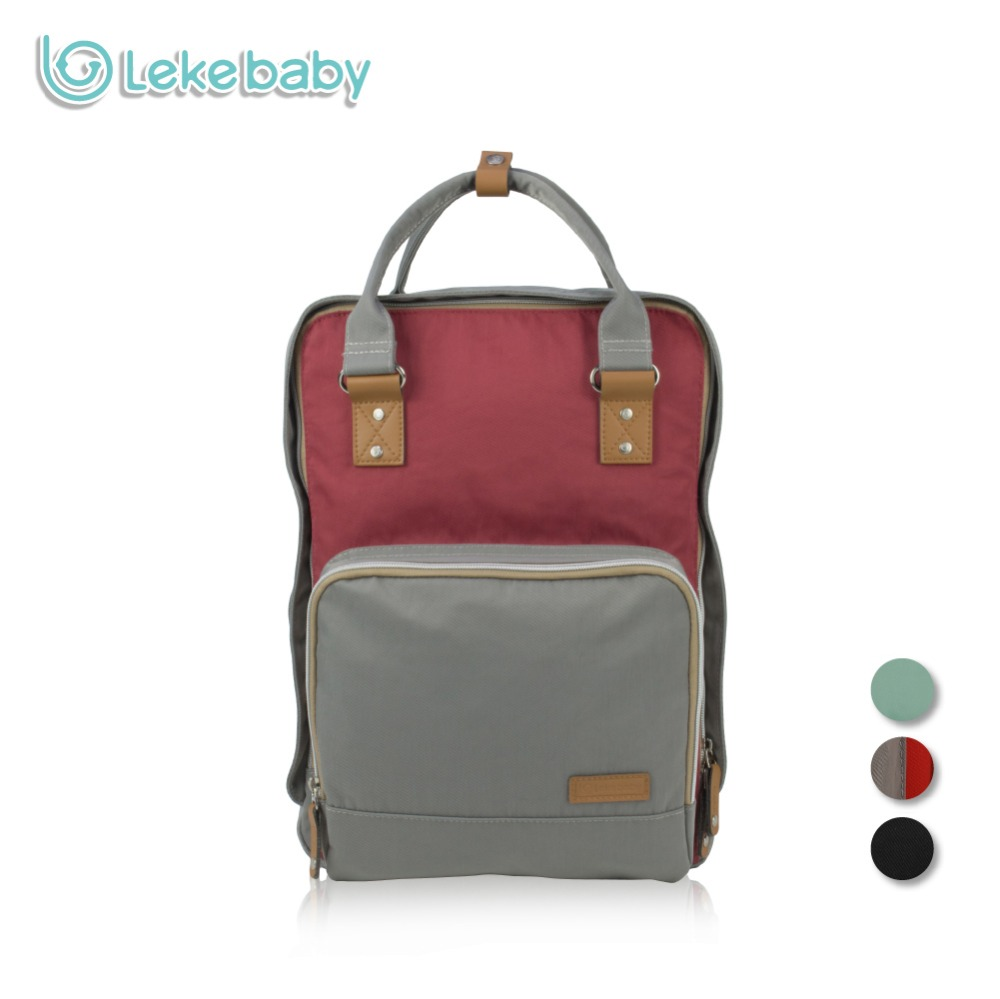 Lekebaby Fashion Mummy Maternity Bag Diaper Backpack Large Capacity Baby Care Nappy Changing Bag Travel Tote Bag for Stroller fashion mummy bag travel baby diaper bag large capacity multifunctional baby diaper backpack red