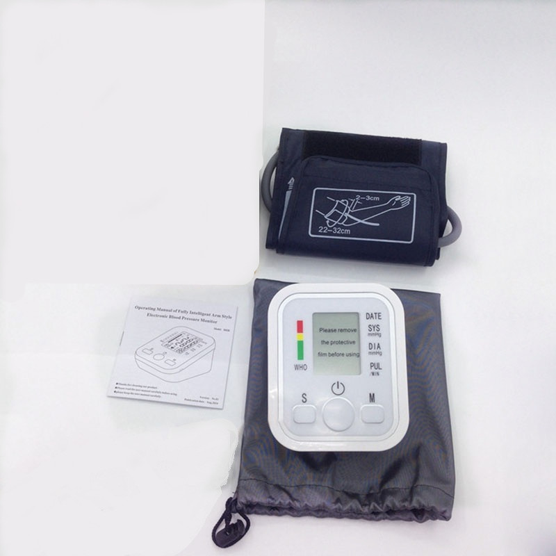 17 New Household LED Monitors Portable Health Care Upper Arm Cuff Blood Pressure Monitors For UK Free Shipping R017-2 13