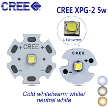 10PCS Cree XPG2 xp-g2 generations LED 3W 5W 3535 SMD LED LAMP 6500k 4500k 3000k 20/16/14/12/10/8mm PCB board/projector