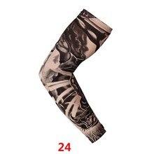 √  1 Шт. Татуировки Рукава Anti-Sunshine Моды для Мужчин и Женщин Татуировки Рука Ноги Рукава Высокий