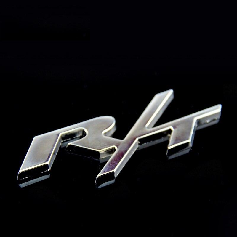 Black Dodge Head Logo Metal Car Emblem Badge Decal Sticker Ram Charger Hemi R//T