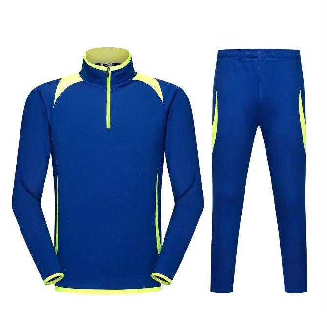 1ef57d2af6abc Chándal de fútbol respirable hombres niños jersey de fútbol set survetement  fútbol maillot de pie forma traje de entrenamiento