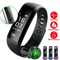 M2Pro Smart Wristband Fitness Tracker Bracelets Heart Rate Blood Pressure Watch Pulse Meter Oxygen Waterproof SMS Call SportBand