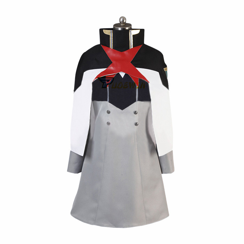 Anime DARLING in the FRANXX Cosplay Costume Uniform Only Cloak and Hat Cosplay Costume