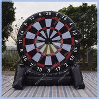 New Design 2 Sides Inflatable Foot Darts for Sale, Air Sealed Inflatable Dart Game