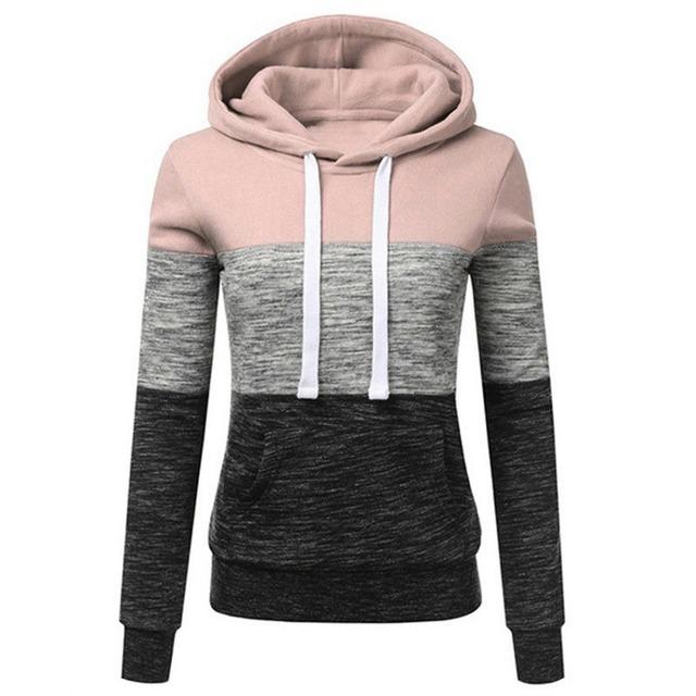 Casual Long Sleeve Hooed Pullover Sweatshirt Tracksuits