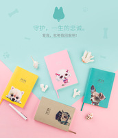 2018 Cute Dog A5 Notebook Agenda Planner Organizer Calendar Book Planner Notepa Notebook Diary Creative Stationery