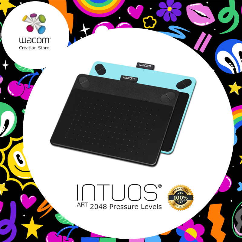 Wacom Intuos Art Cth 490 Pen Touch Digital Graphic Drawing
