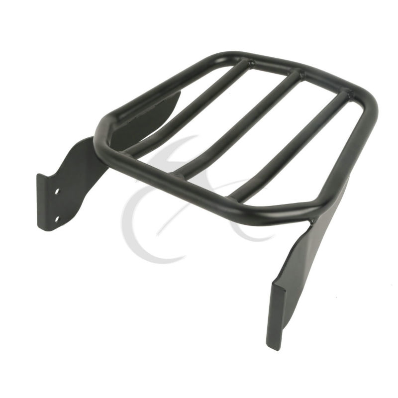 Tapered Sport Luggage Rack For Harley Softal Custom FXSTC 07 10 Fatboy 07 17 17