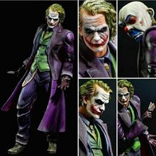 New arrive 21cm Playarts PLAY ARTS KAI Batman The Dark Knight The Joker PVC Action Figure collection Model Toy(China)