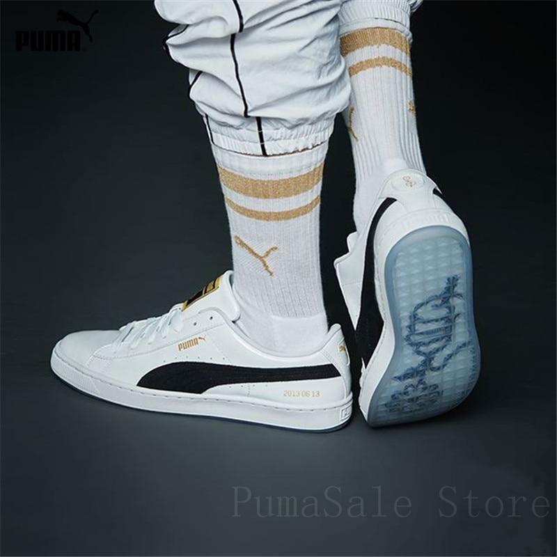 low priced aa9f0 f143a PUMA X BTS Basket Patent Shoes Bangtanboys Collaborat Classic Sneaker  Unisex /Men's /Women's Sneaker Shoes Size35.5-44