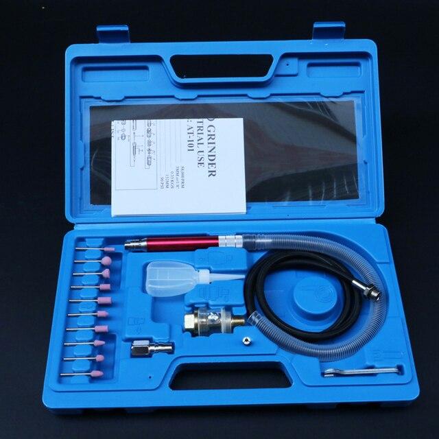 WENXING di Alta Velocità Micro Air Die Grinder Kit Mini Matita di Lucidatura Strumento di Incisione Rettifica Taglio Utensili Pneumatici Mayitr