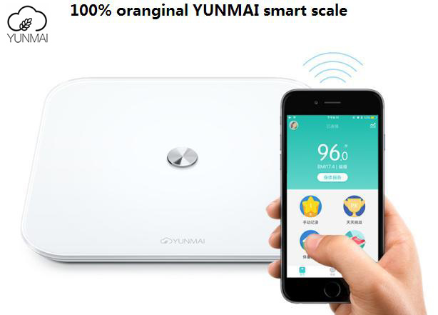 Original YUNMAI SE Smart Scales Household Premium Support Bluetooth APP Digital bathroom Weighing Scale FLOOR SCALES PK Xiaomi