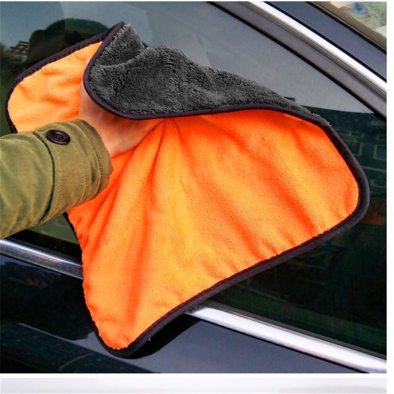 38*40cm Hot Sale Cleaning Detailing Polishing Scrubing Waxing Cloth Car Microfibre Towel Soft Microfiber Car Hand Soft Towel A30