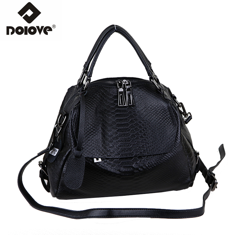 c3e345d9fc0a Detail Feedback Questions about DOLOVE new style real genuine leather  women s bag